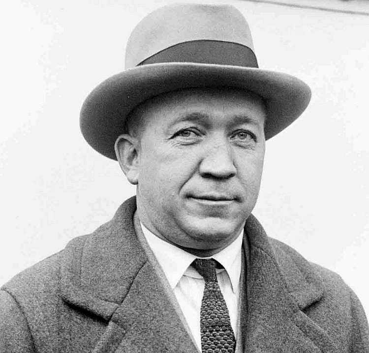 Knute Rockne - Notre Dame (as player 1910-1913) (as Head Coach 1918-1930) -  (Photo is screen capture of YouTube video documentary on Knute Rockne)