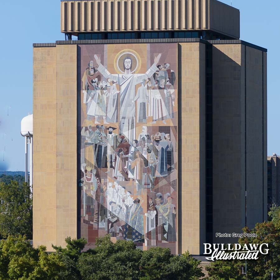 Christ and the Saints of Learning aka Touchdown Jesus