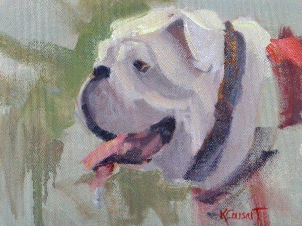 Bulldog in profile © KathyCousart