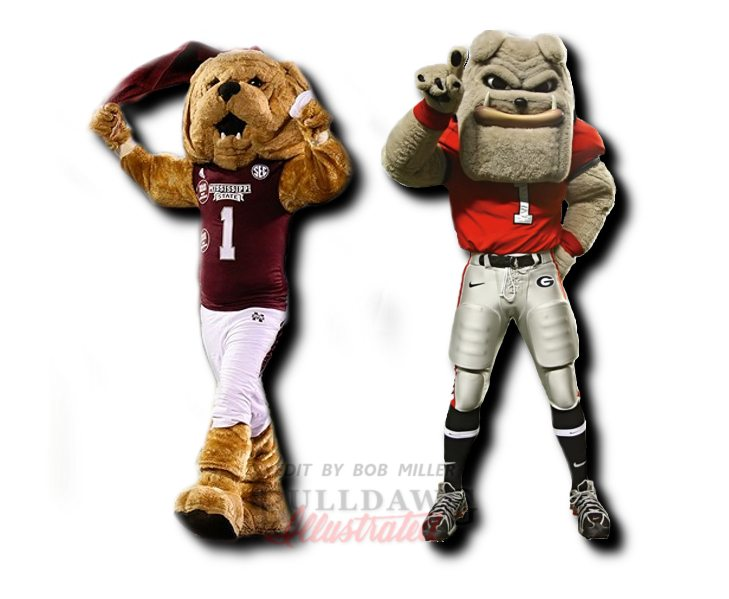 Bully and Hairy, Mississippi State vs. UGA edit by Bob Miller