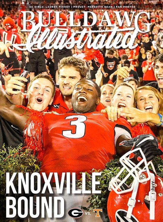 2017 Vol 15 Issue 07 Knoxville Bound - Bulldawg Illustrated magazine cover
