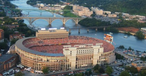 Neyland Stadium - Knoxville, Tennessee - (Photo from University of Tennessee)