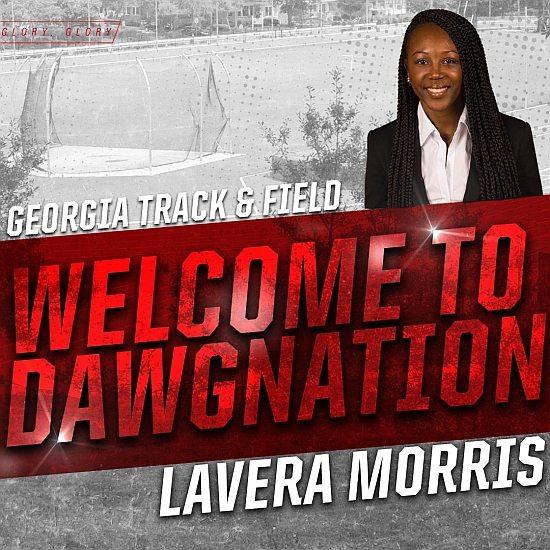 Lavera Morris  (Photo from Georgia Track & Field / Twitter)