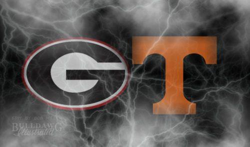 No. 7 Georgia vs. Tennessee 2017 edit by Bob Miller