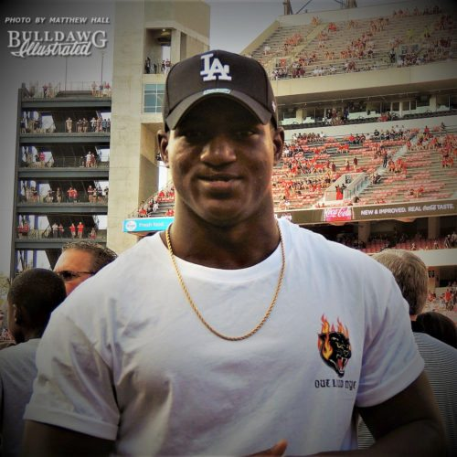 """Zamir """"Zeus"""" White - Class of 2018 RB - Georgia-Mississippi State Game (Photo by Matthew Hall)"""
