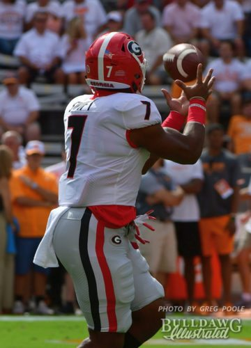D' Andre Swift  - UGA vs. Tennessee -  Saturday, September 30th, 2017