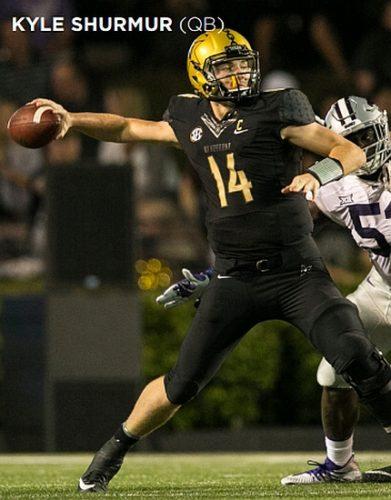 Kyle Shurmur, Vanderbilt QB