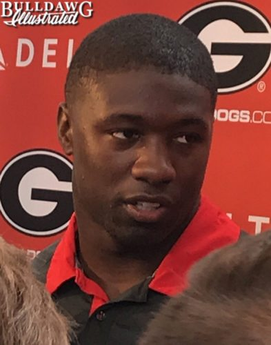 Roquan Smith during a interview on Monday, Oct. 9th, 2017