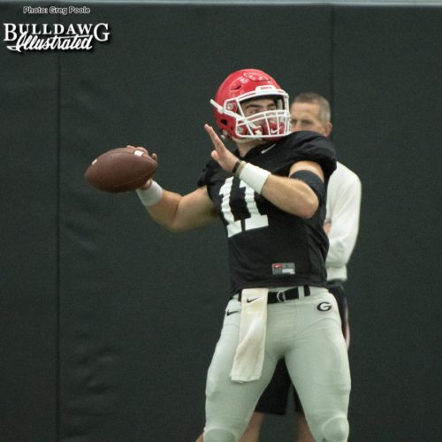 Jake Fromm and the rest of the Bulldogs continue to prepare for their game against Missouri