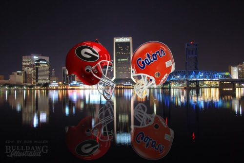 Georgia-Florida, Jacksonville 2017 edit by Bob Miller