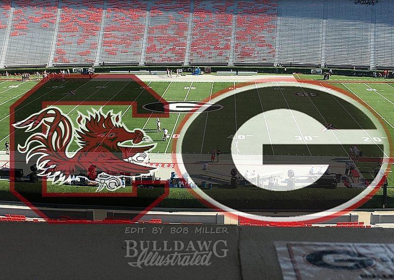 From the Press Box Georgia vs. South Carolina 2017 edit by Bob Miller