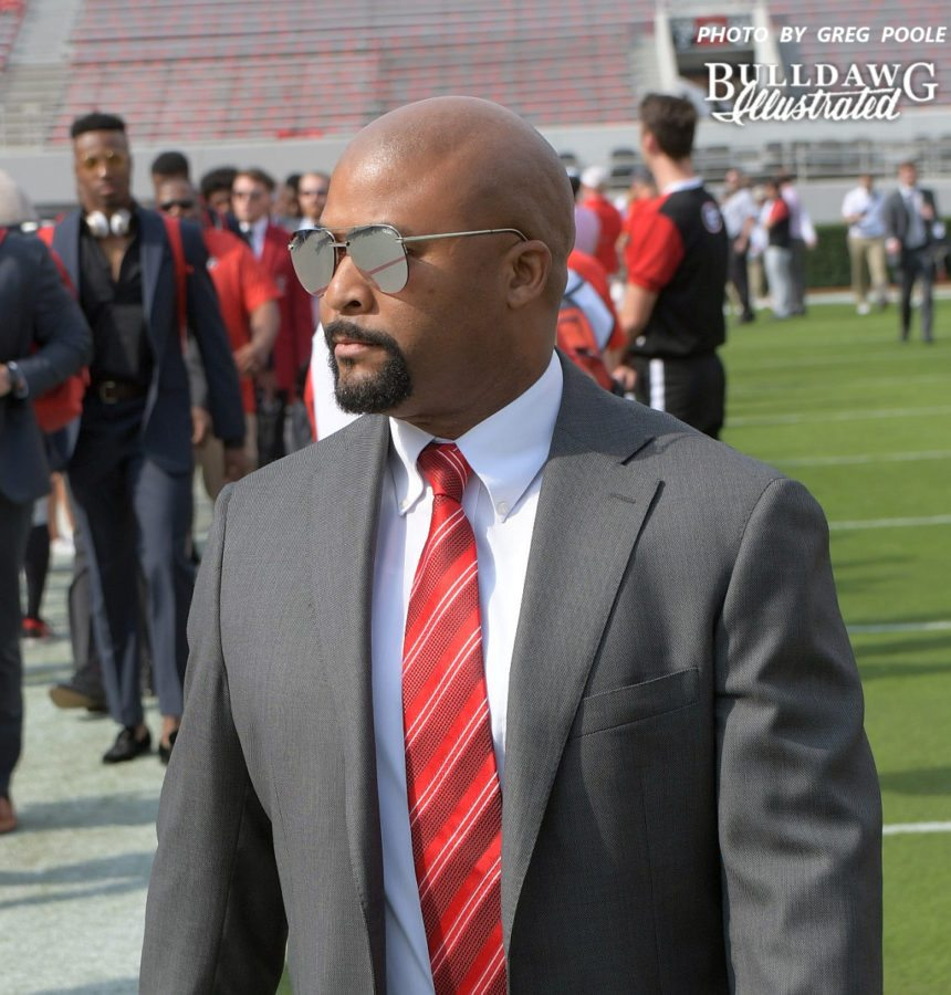 Dell McGhee  - Georgia-South Carolina Dawg Walk 2017