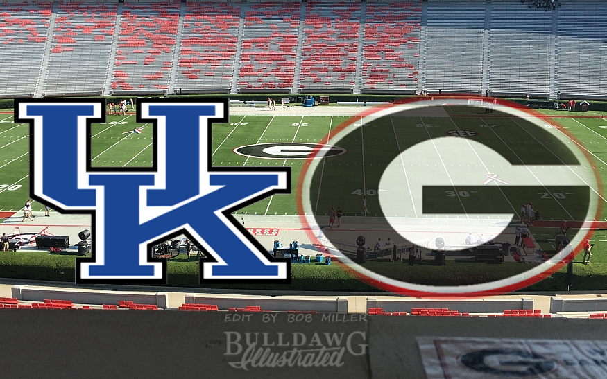From the Press Box Georgia vs. Kentucky 2017 edit by Bob Miller