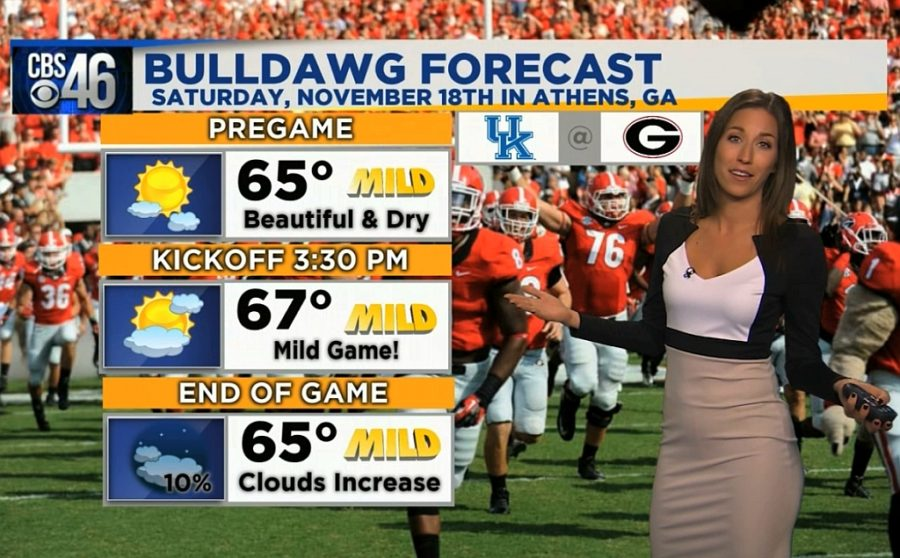 Ella's Bulldawg Forecast for Georgia-Kentucky