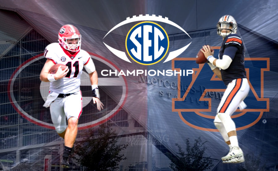 2017 SEC Championship Georgia-Auburn edit by Bob Miller