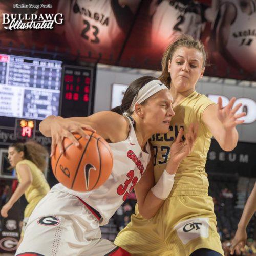 Mackenzie Engram – Georgia vs. Georgia Tech – December 17, 2017