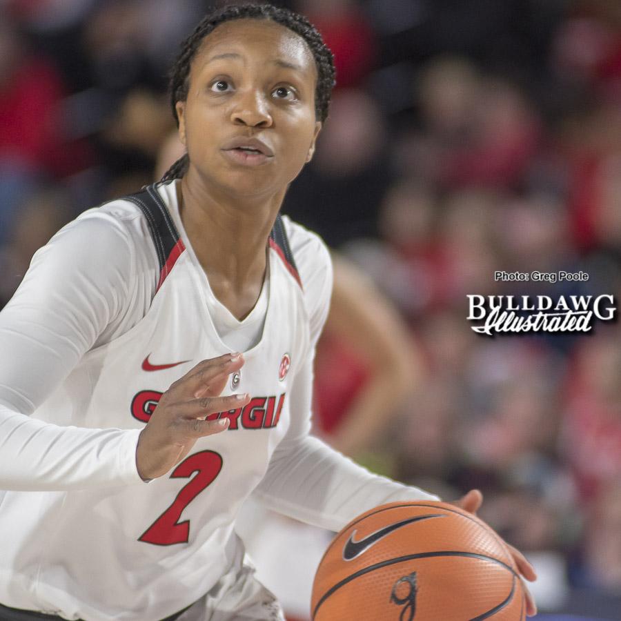Gabby Connally (2)  - UGA Women's Basketball Team -