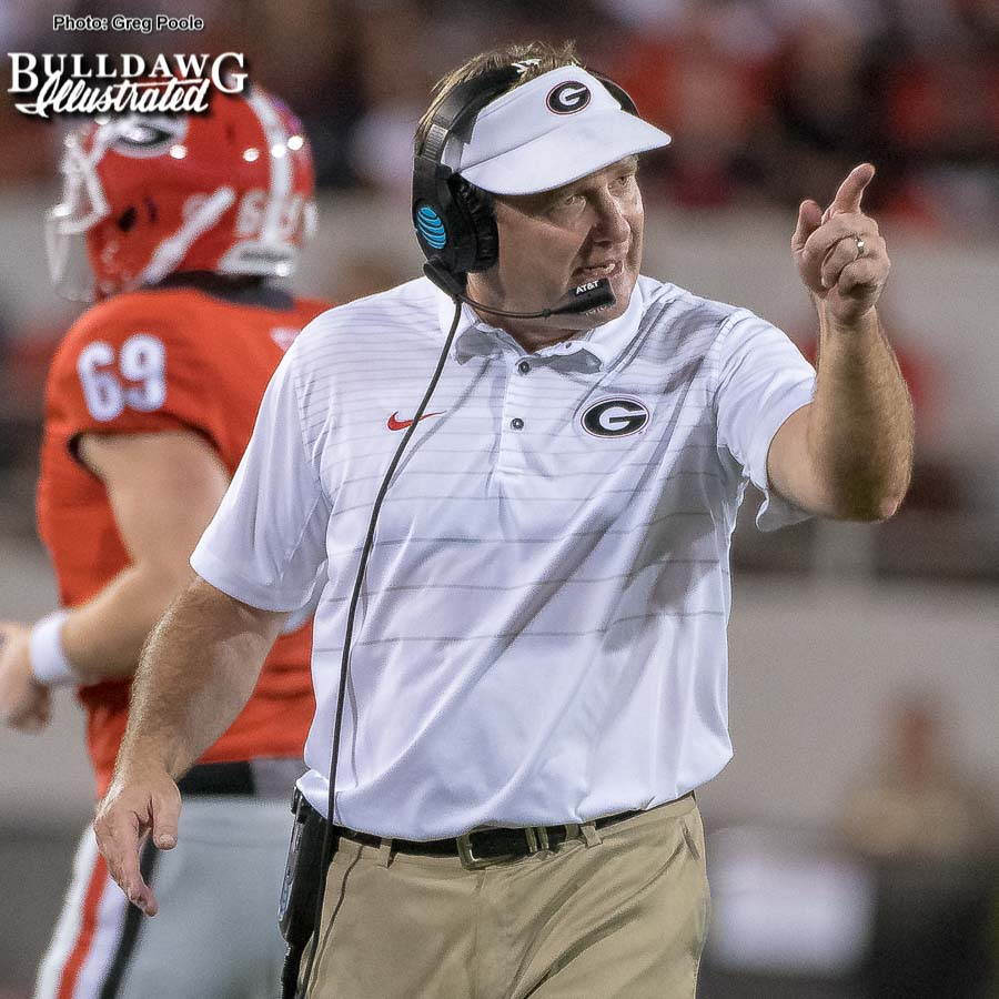 Kirby Smart – 2017 Season Photo Rewind – Samford