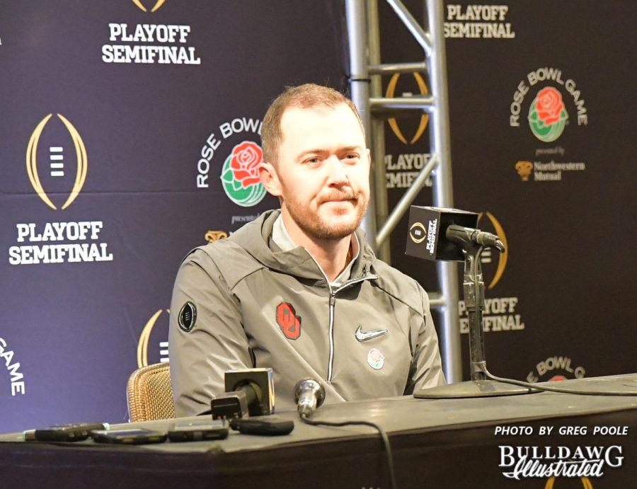 Oklahoma Sooners' Head Coach Lincoln Riley