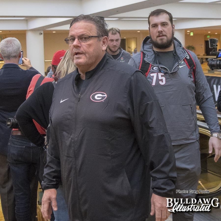 Georgia O-Line Coach Sam Pittman