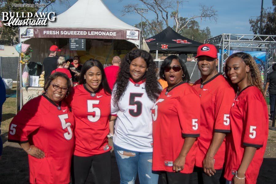 The Godwin Family - Rose Bowl game, Monday, Jan. 1, 2018 -