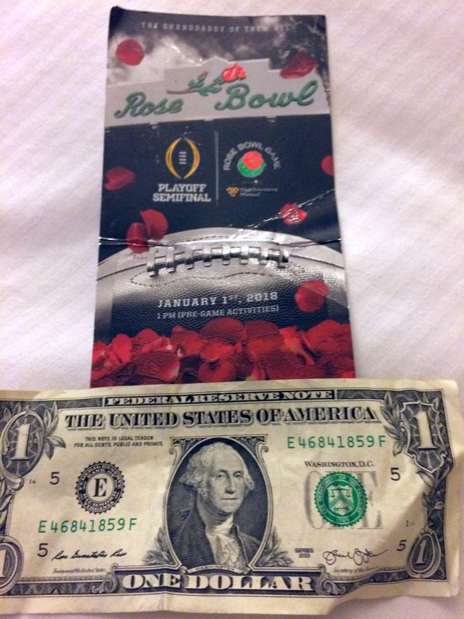 'Rose Bowl is money, baby!'