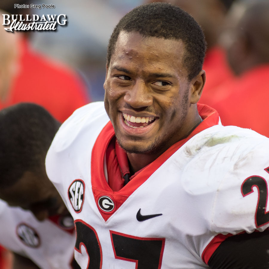 Nick Chubb – 2017 season rewind – Georgia vs. Florida