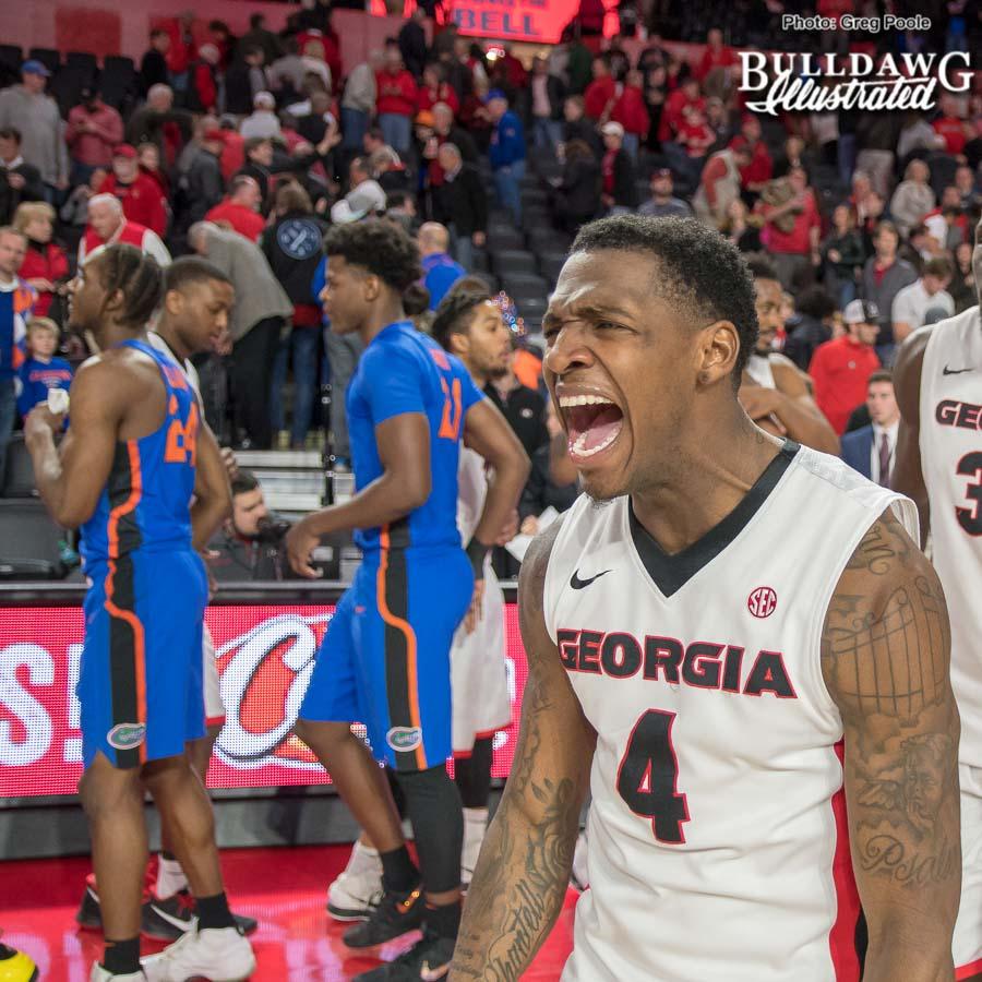 Tyree Crump – Georgia vs. Florida – January 30, 2018