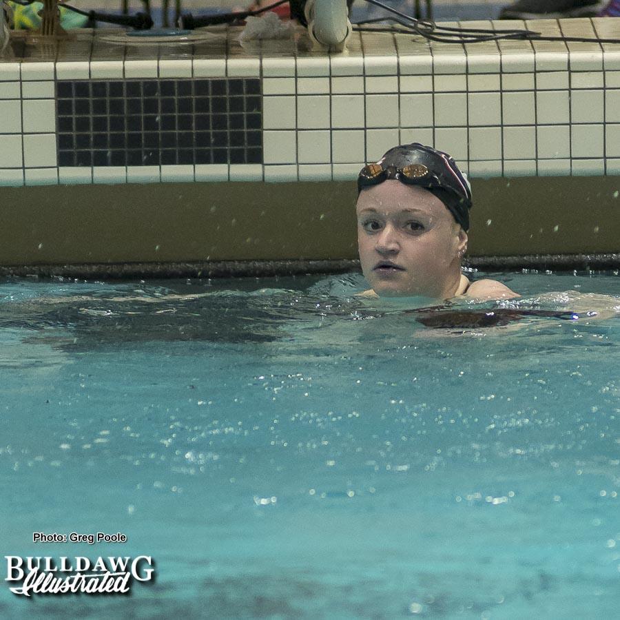 Meg Kingsley - 200 yard backstroke – Georgia vs. Emory – February 3, 2018