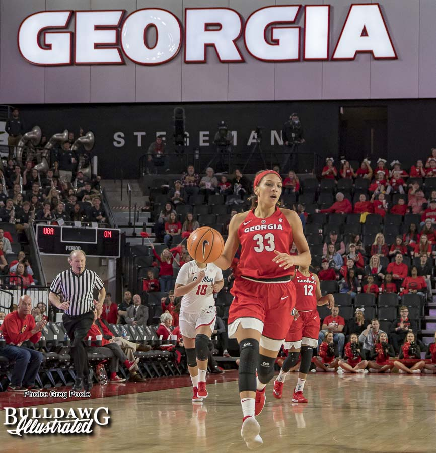 Mackenzie Engram – Georgia vs. Ole Miss – December 4, 2018