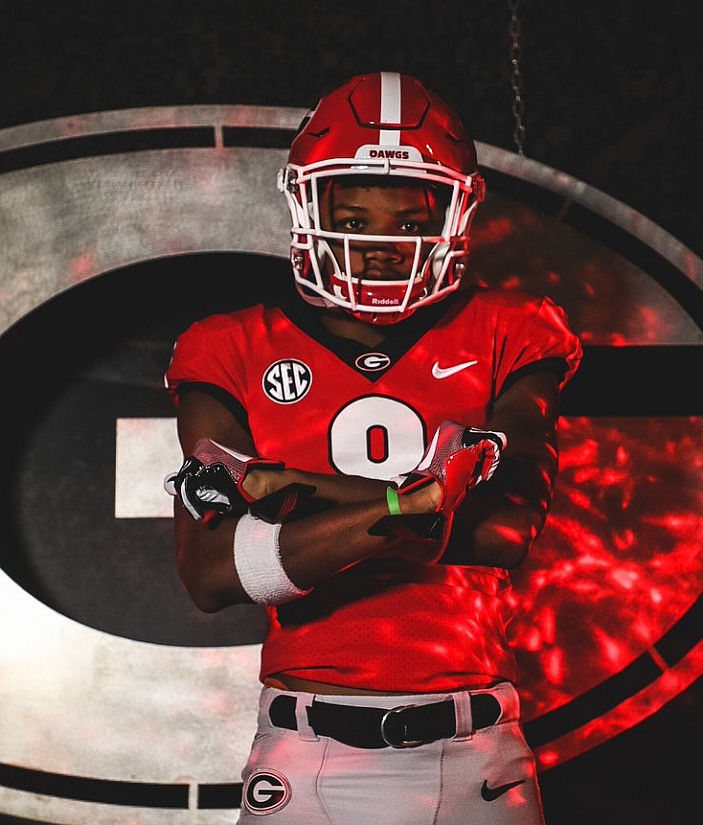 Tyson Campbell - Class of 2018 CB -  American Heritage High School (Photo from Tyson Campbell/Twitter)