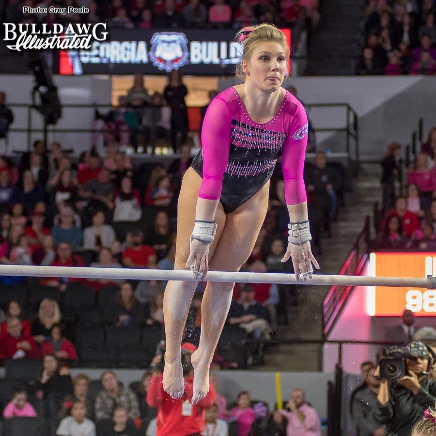 Jordyn Pedersen - The Pink Meet - Georgia vs Missouri - January 3, 2018