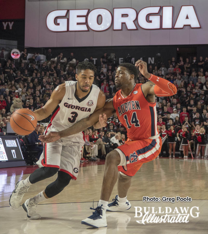 Juwan Parker – Georgia vs. Auburn – February 10, 2018