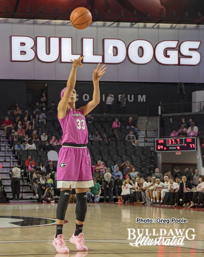 Mackenzie Engram – Georgia vs. South Carolina – February 15, 2018