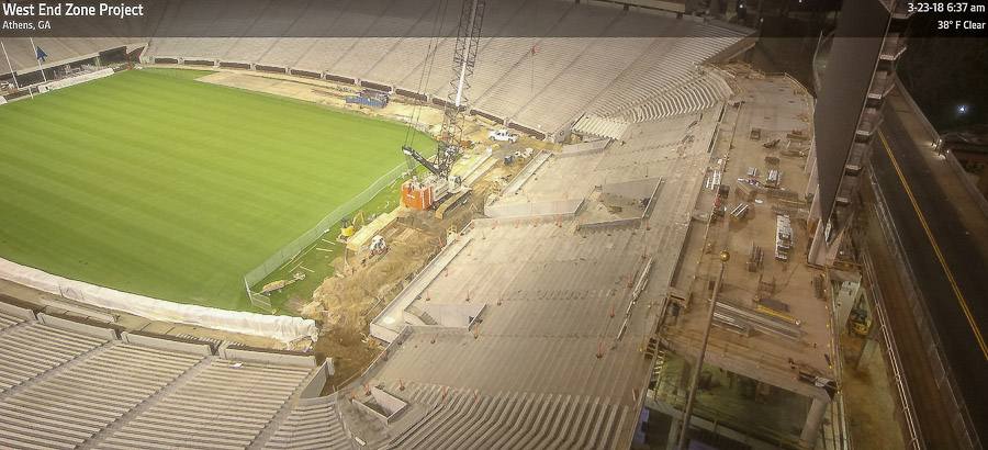 West End zone project construction update's