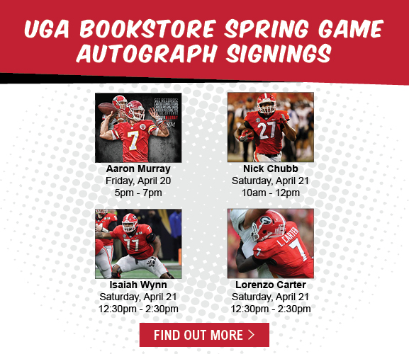 G-Day 2018 Autographs at the UGA Bookstore