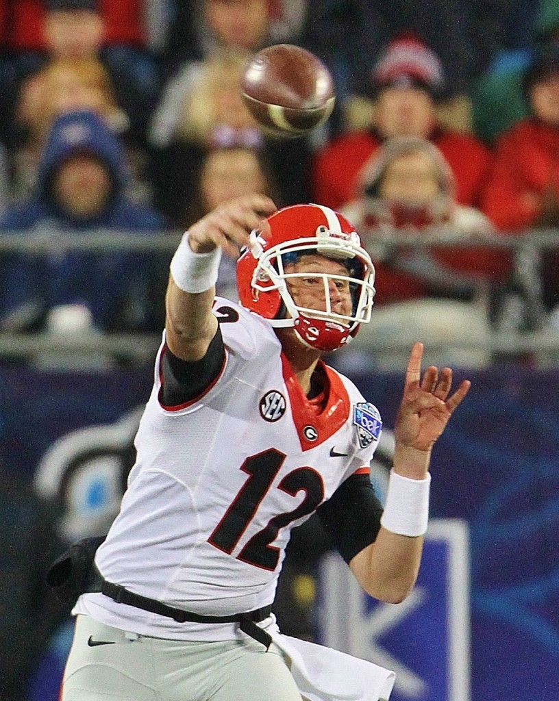 Brice Ramsey lets one go Q3 - Belk Bowl