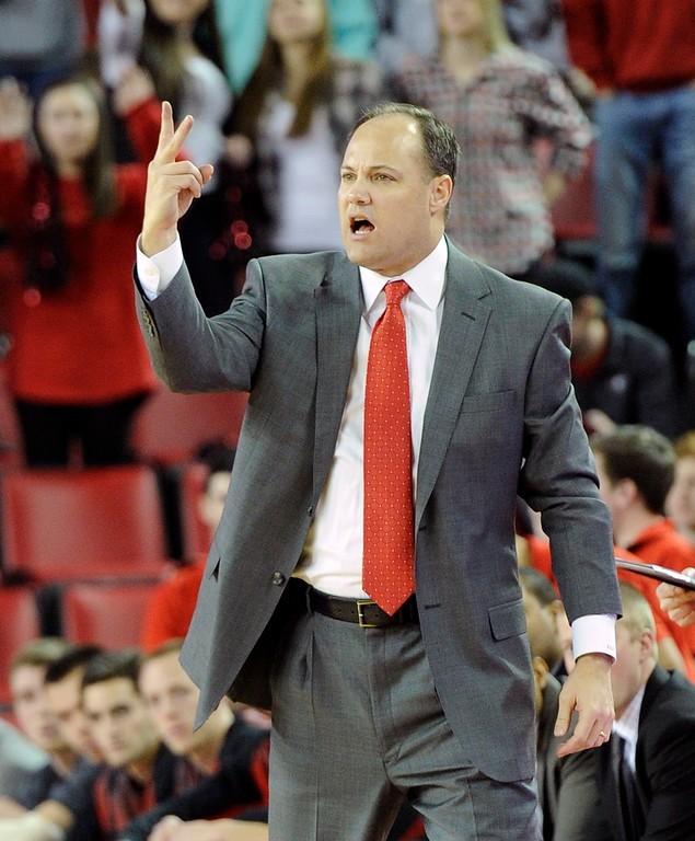 Coach Mark Fox