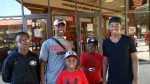 Jymias Davis, Timothy and Willie Foster, Vorichan Chandler and Jalan Harrell