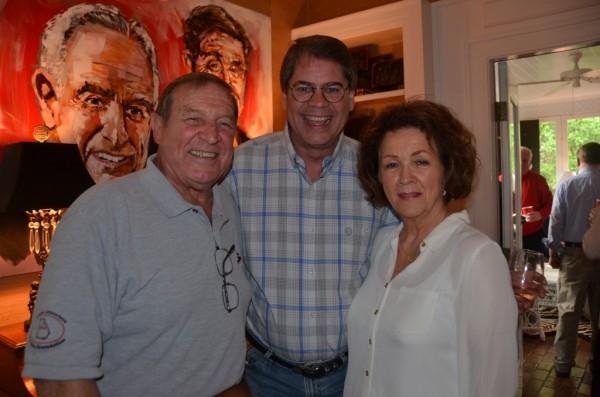 Wayne Brantley, William Ledford and Karen Brantley