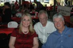 Jennifer Frum, Brother Stewart and Chuck Dowdle