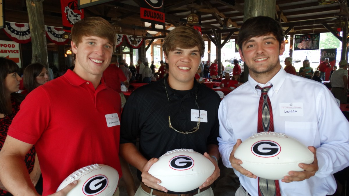 Greg McKenzie, Jr., Griffin Gillis and Landon Pickle