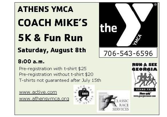 coach Mike's fun run