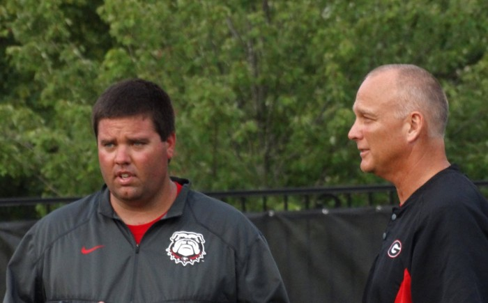 Josh Lee (director of football operations) and Mark Richt