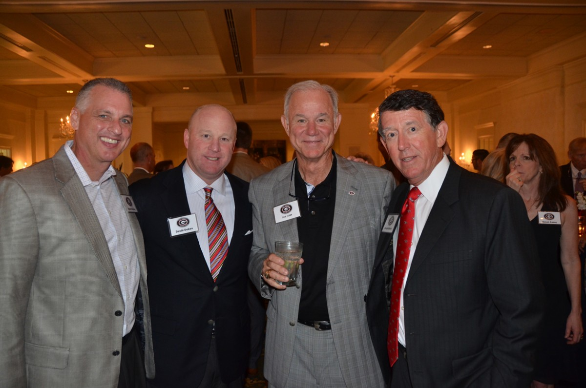 Daniel Dooley, David Dukes, Dick Conn and Greg McGarity