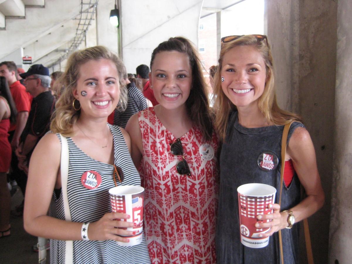 Courtney Rappe, Caroline Webb and Katey Brooks