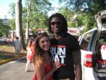 Allie Lowry and Chris Conley