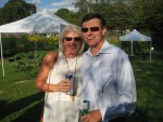 Cathy Long and Frank Eldridge