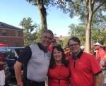 Jeff Andrews, Cheri Leavy and Vance Leavy