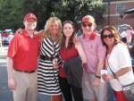 John Wilkerson, Gay Giddens, Virginia Wilkerson and Burt and Nancy Wilkerson